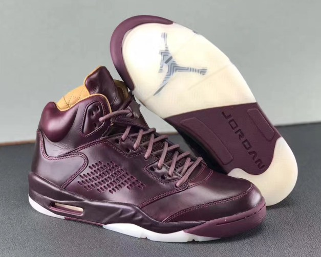 Air Jordan 5 Premium Bordeaux 881432-612