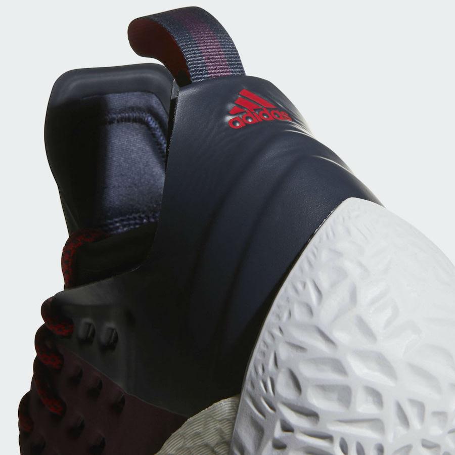 Adidas Harden Vol 2 Maroon AH2124 Release Date Sneaker