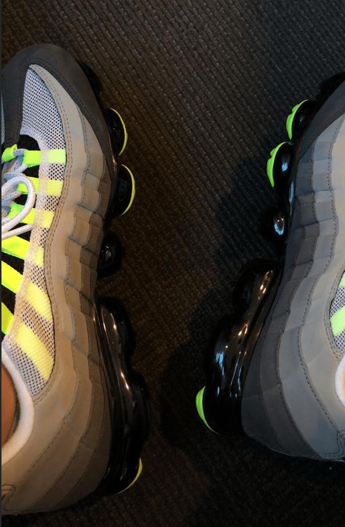 Nike Air VaporMax 95 OG Neon Release Date Sneaker Bar Detroit