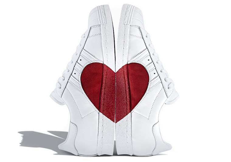 Adidas Superstar Valentines Day Heart CQ3009 Sneaker Bar