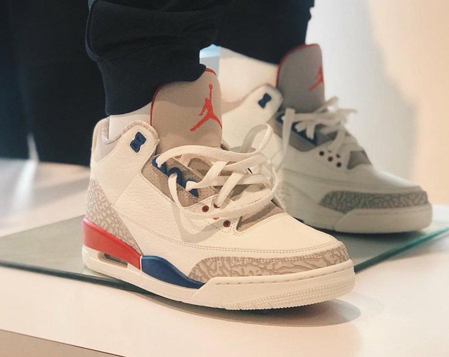Air Jordan 3 Charity Game 136064-140 Release Date