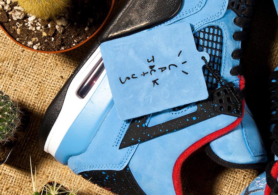 Air Jordan 4 Travis Scott Release Date