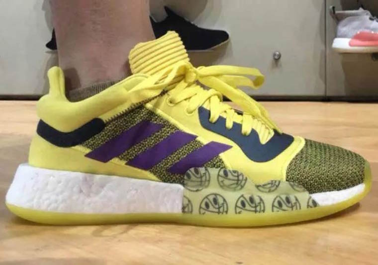 adidas John Wall Marquee Boost PE Lakers Yellow