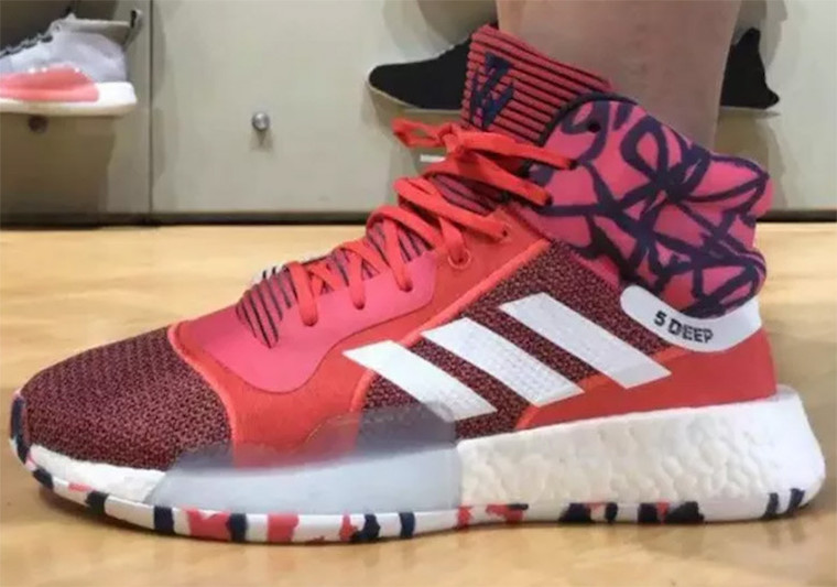 adidas John Wall Marquee Boost PE Wizards Red