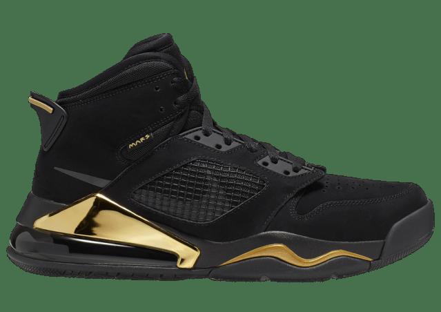 Jordan Mars 270 DMP Black Metallic Gold CD7070-007 Release Date