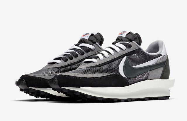 Sacai Nike LDWaffle Black Anthracite White BV0073-001 Release Date