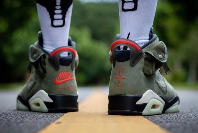 Travis Scott Air Jordan 6 2019 On-Feet Release Date CN1084-200