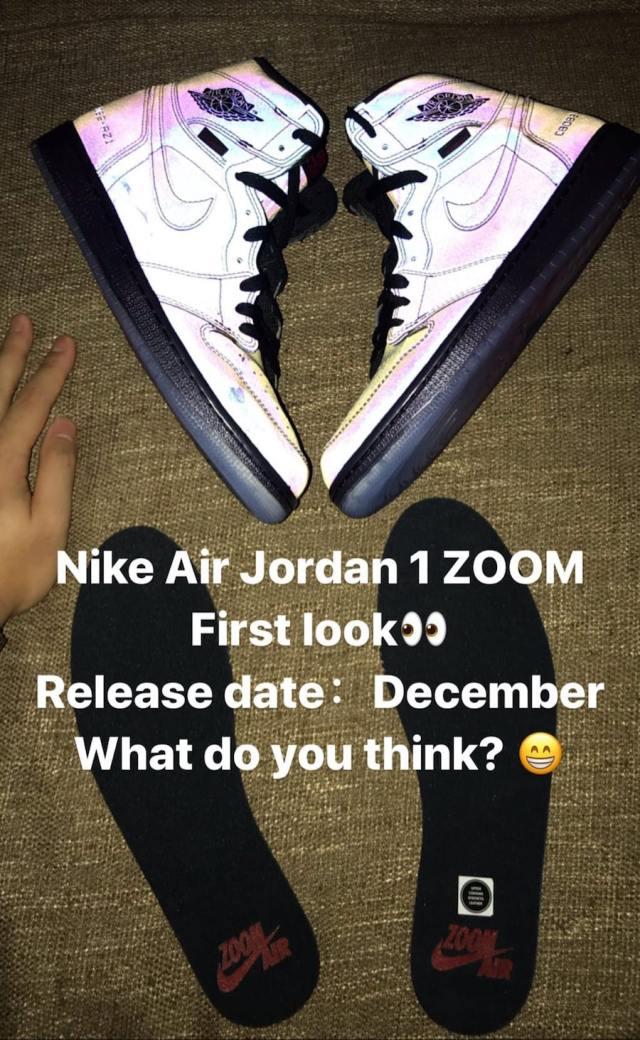Air Jordan 1 Zoom R2T Release Date Insole