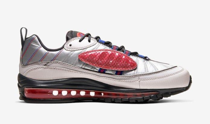 Nike Air Max 98 NRG Vast Grey Hyper Blue BQ5613-001 Release Date
