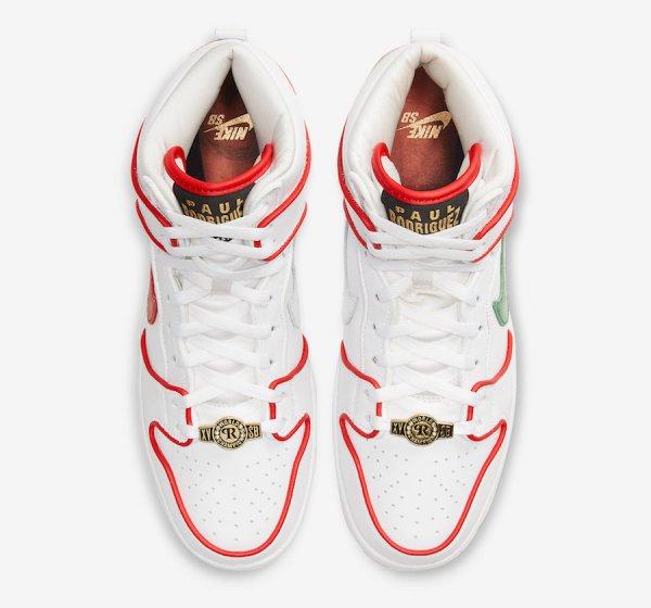 Paul Rodriguez Nike SB Dunk High Boxing CT6680-100 Release ...