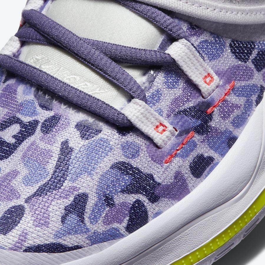 Nike Kyrie 6 Asia Purple Camo CD5031-500 Release Date