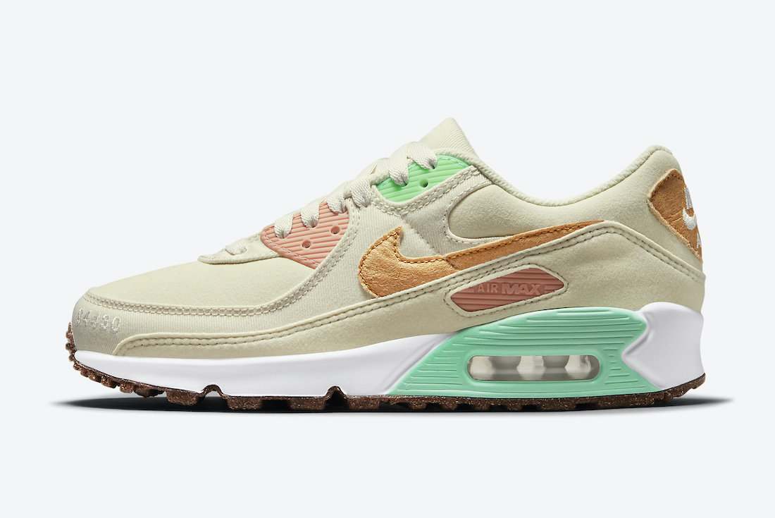 Nike Air Max 90 Happy Pineapple DC5211-100 Release Date - SBD
