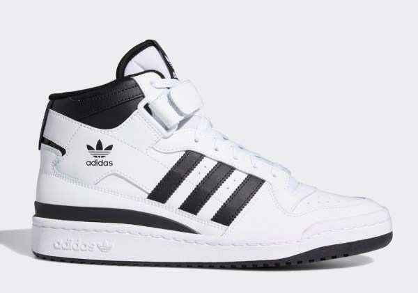 adidas Forum Mid 'White / Black'
