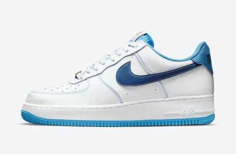 Nike Air Force 1 '07 First Use 'White/University Blue'