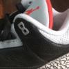 """【2018年発売】Air Jordan 3 Retro OG """"Black Cement""""【エアジョーダン3】"""