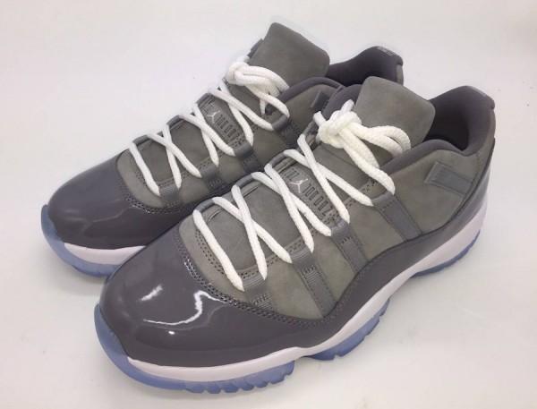 "45e1e8f3b8cf52 Air Jordan 11 Low ""Cool Grey"" Color  Medium Grey Gunsmoke-White Style Code   528895-003. Release Date  May 26"