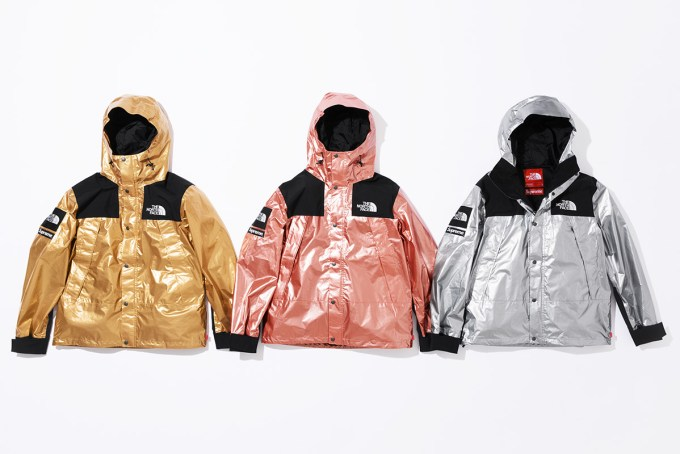 SUPREME × THE NORTH FACE 2018SS