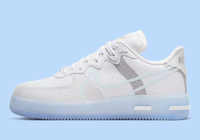 "Air Force 1 React ""White Ice"""