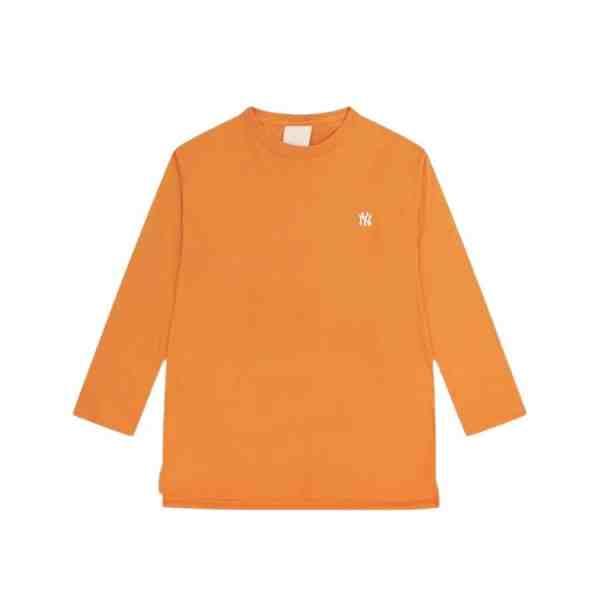 ao-thun-mlb-long-sleeve-new-york-yankees-feature-big-boy-yellow-31tsc2941-50o
