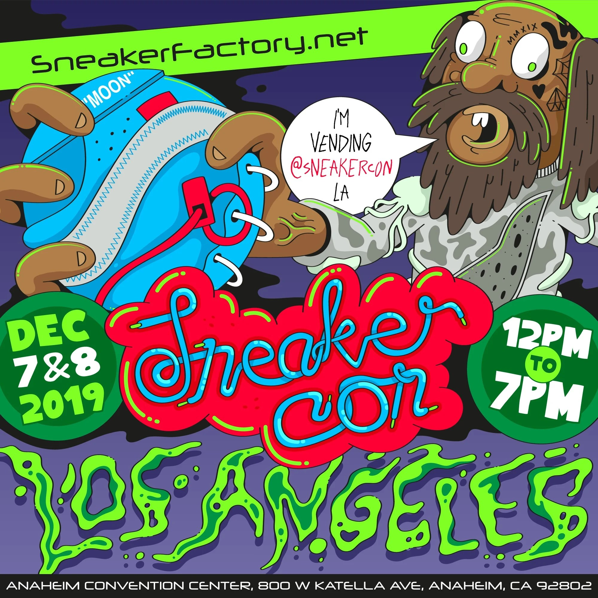 Join us at Sneaker Con L.A. Dec 8th