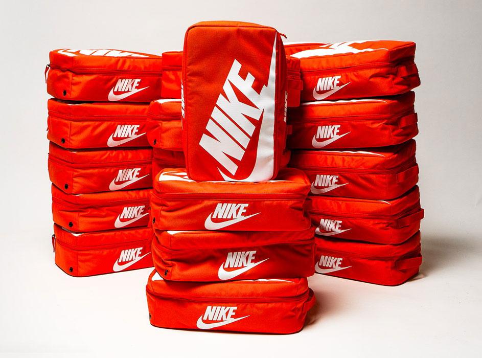 Nike Orange Shoe Box Bag   SneakerFits.com