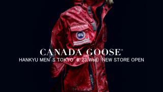 8月23日 カナダグース が阪急メンズ東京にオープン-CANADA GOOSE HANKYU MEN'S TOKYO NEW STORE OPEN-