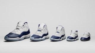 """【11/11】 ナイキ エアジョーダン11 """"ミッドナイトネイビー"""" / Air Jordan 11 """"Win Like 82"""" 378037-123"""