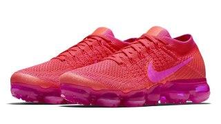 """【1/18】ナイキ エア ヴェイパーマックス """"トリプルピンク"""" / Nike Air VaporMax Hyper Punch 849557-604"""
