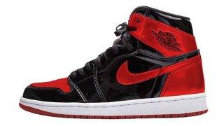 """【5/21】エアジョーダン1 """"ブレッド パテント"""" / Air Jordan Retro 1 High OG """"Bred Patent"""" 861428-061"""