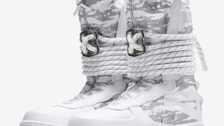 """【11/11】ナイキ スペシャルフィールド エアフォース1 ハイ """"ウィンター カモ"""" / Nike SF-AF1 High AA1130-100"""