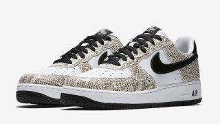 """【11/16】エアフォース1 """"白蛇"""" / Nike Air Force 1 Low """"Cocoa Snake"""" 845053-104"""