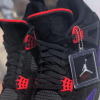 【8/18, 9/1】エアジョーダン4 ラプターズ / Air Jordan 4 NRG Black/University Red-Court Purple AQ3816-056