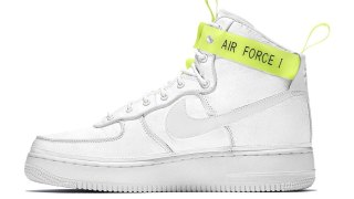 "【2/10】ナイキ エアフォース 1 ハイ VIP / Magic Stick x Nike Air Force 1 High ""VIP"" 573967-101"