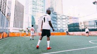 【画像あり】ナイキラボ x オフホワイト サッカーパック / NikeLab x OFF-WHITE c/o VIRGIL ABLOH™
