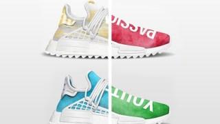 """【2018/5】ファレル x アディダス NMD チャイナエクスクルーシブ / Pharrell x adidas NMD Human Race """"China Exclusive"""" Collection"""