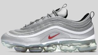 """【3/30】ナイキ エア ヴェイパーマックス97 シルバーバレット / Nike Air VaporMax 97 """"Silver Bullet"""" AJ7291-002"""