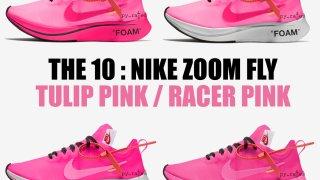 """【リーク】オフホワイト x ナイキ ズームフライSP ピンクコレクション / Off-White x Nike Zoom Fly """"Pink"""" Collection"""