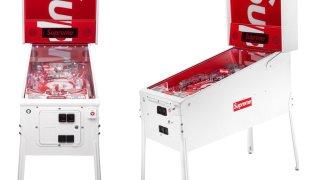 【5/26】シュプリーム ピンボールマシーン 発売か!? / Supreme Pinball machine