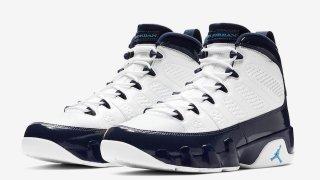 """【2/9】エアジョーダン9ユニバーシティーブルー / Air Jordan 9 """"University Blue"""" 302370-145"""