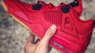 【リーク】エアジョーダン4 レッドガム / Air Jordan 4 Red Gum