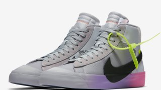"【10/3, 10/25】オフホワイト x ナイキ ブレーザーMid クイーン for セリーナ / Off-White x Nike Blazer Mid ""Queen"" For Serena Williams AA3832-002"