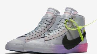 """【10/3】オフホワイト x ナイキ ブレーザーMid クイーン for セリーナ / Off-White x Nike Blazer Mid """"Queen"""" For Serena Williams AA3832-002"""