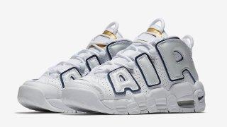 【新作】ナイキ モアテン ホワイトネイビー / Nike Air More Uptempo 415082-109