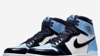 """【2019】エアジョーダン1 レトロハイ OG パテント / Air Jordan 1 Retro High OG """"UNC Patent""""CD0461-401"""