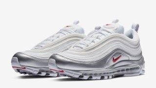 """【1/12】ナイキ エアマックス97 メタリックパック / Nike Air Max 97 """"Metallic Pack"""" AT5458-100, AT5458-001, AT5458-002"""