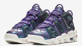 【発売開始】ナイキ エアモアアップテンポ イリディセントパープル / Nike Air More Uptempo Iridescent Purple 922845-500