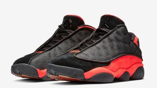 "【1/3】クロット x エアジョーダン13 Low / Clot x Air Jordan 13 Low ""Black Infrared"" AT3102-006"