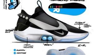 【4/5】ナイキ アダプト バスケットボール / Nike Adapt BB AO2582-001