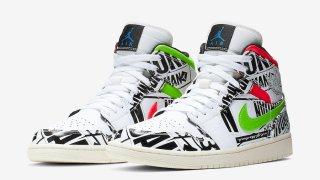 【リーク】エアジョーダン1 Mid クレイジーパターン / Air Jordan 1 Mid