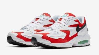 """【近日発売】ナイキ エアマックススクエア ライト / Nike Air Max2 Light """"Habanero Red"""" AO1741-101"""